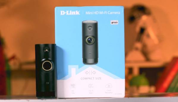 Top features of the D-Link Mini HD Wi-Fi camera