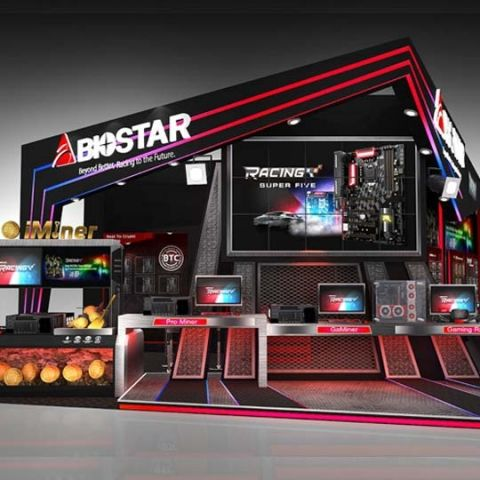 BIOSTAR showcases gaming, crypto mining and more at COMPUTEX 2018