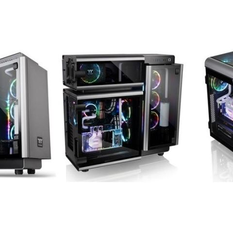 Thermaltake introduces Level 20 and Level 20 GT Full-Tower Chassis at COMPUTEX 2018
