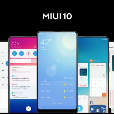MIUI 10 Global ROM announced alongside Redmi Y2, beta version to roll out by mid-June