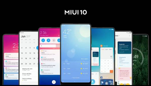 Xiaomi rolls out MIUI 10 Global Beta 8.7.5 ROM to eight devices
