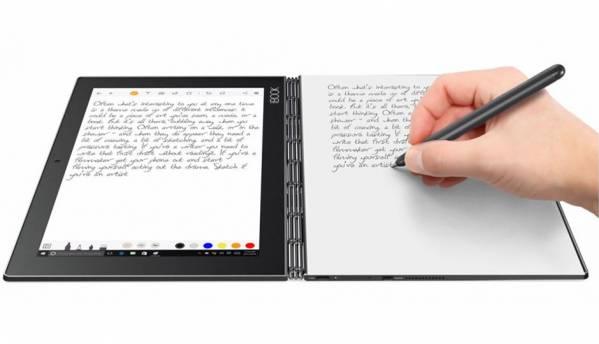 Lenovo previews an e-ink keyboard on the Yoga Book 2
