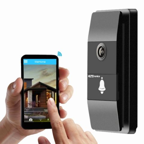 Portronics launches 'mBell' Wi-fi Security doorbell that can live stream video to your smartphone
