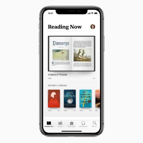 Apple highlights new features coming to Apple Books app with iOS 12