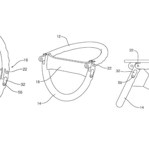 Ford patents folding steering wheel that doubles up as a laptop stand