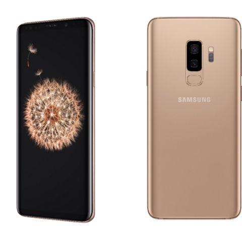 Samsung s9 plus sunrise gold