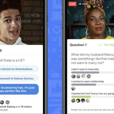 Facebook announces new tools for interactive Live videos and new ways of monetisation for creators