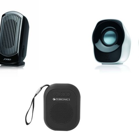 Top speaker deals under Rs 500 on Paytm Mall: Discounts on F&D, Logitech, and more