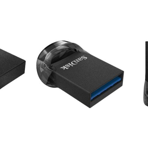 SanDisk Ultra Fit USB 3.1 storage solution launched starting at Rs 800
