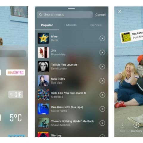 You can now add soundtracks to your Instagram Stories via 'Music Sticker'