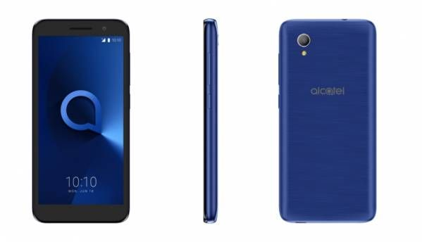 Alcatel 1 is an Android Oreo (Go Edition) smartphone with 5.34-inch display, 1GB RAM