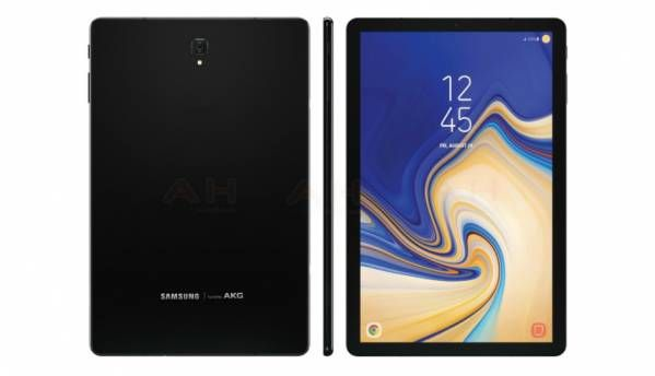 Samsung Galaxy Tab S4 leaked renders show narrow bezels, no home button