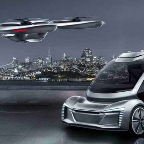 Audi, Airbus cleared for flying taxi tests in Germany