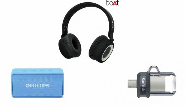Top tech Deals on Paytm Mall: Discounts on earphones, speakers, flash drives and more