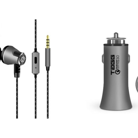 TAGG  Metal Earphones and Roadster Car Charger launched at Rs 999