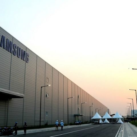 Samsung's new manufacturing plant in Noida is the largest mobile phone factory in the world