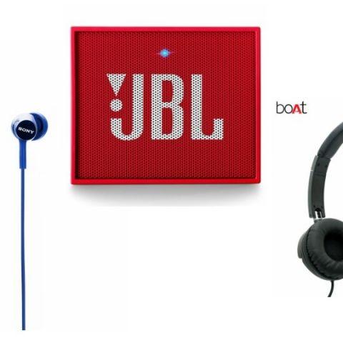 Best earphone, portable speaker deals on Amazon: Discounts on JBL, Sony, boAt and more