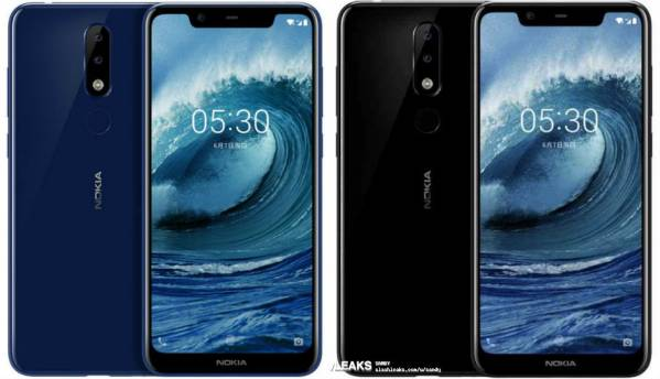 Fresh Nokia X5 (Nokia 5.1 Plus) renders surface just ahead of July 11 'X-series' smartphone launch