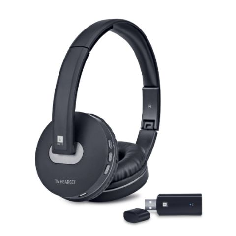 iBall Wireless TV Headset with Bluetooth USB audio transmitter, built-in mic launched at Rs 2,999