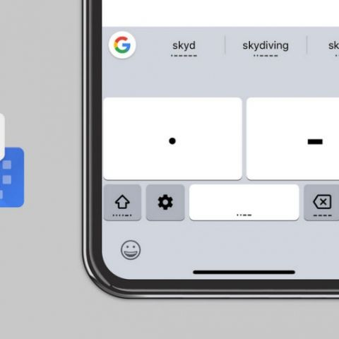 Google rolls out Morse Code for Gboard on iOS