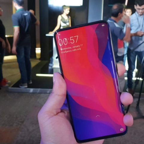 Oppo Find X White colour variant spotted in the wild | Digit