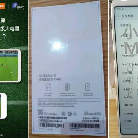 Xiaomi Mi Max 3 Smartphone Announced We have been hearing