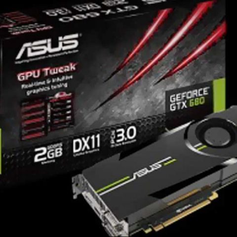 Asus launches its GeForce GTX 680 card at Rs. 46,000