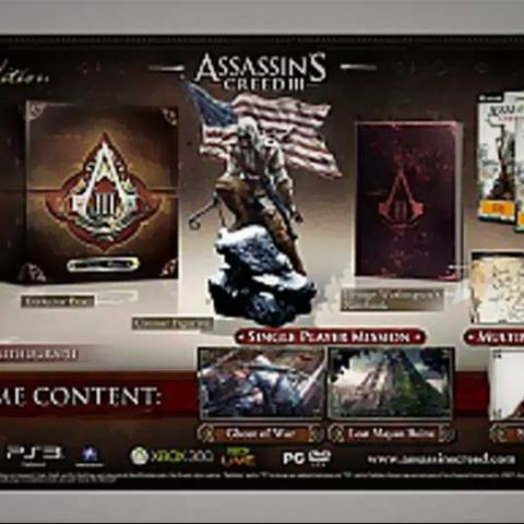 Assassin's Creed III special edition revealed