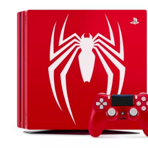 Sony unveils 'Amazing Red' PS4 Pro bundle featuring Spider-Man themed design