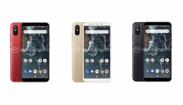 Xiaomi Mi A2 leaked renders confirm stock Android, three colour variants