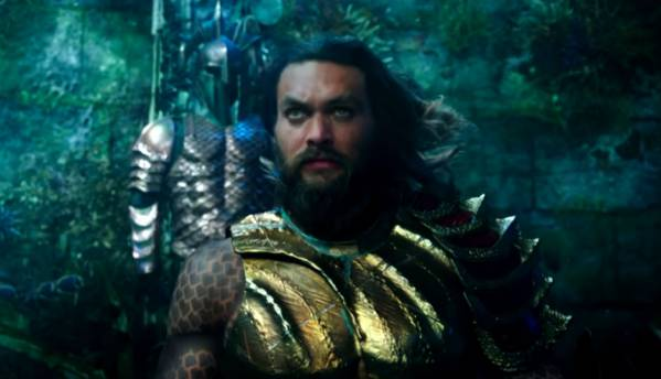 The first trailer for DC's Aquaman is here to tease Arthur Curry's origin story and the 'wrath of the seven seas'!