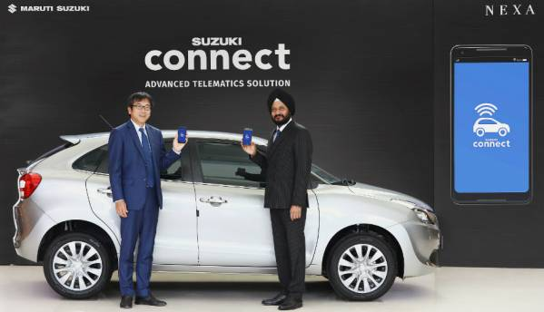 Maruti Suzuki launches Suzuki Connect, a telematics-based solution for NEXA customers