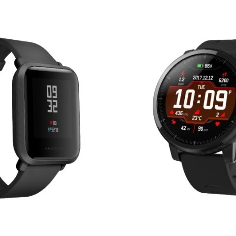 01ab0564b90665 Amazfit Stratos and Amazfit Bip smartwatches launched in India