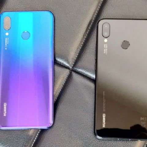 Huawei Nova 3, Nova 3i with quad camera setup, 6 3-inch Full