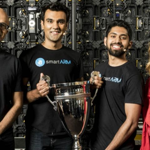 Canada's smartARM declared winners of 16th Microsoft Imagine Cup tournament, Indian team gets special prize