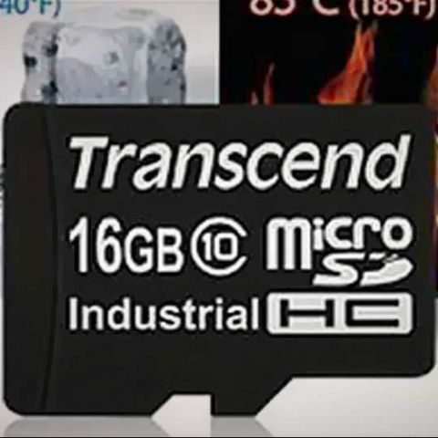 Transcend launches industrial-grade mciroSDHC cards in India, starting Rs. 270