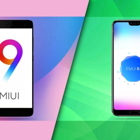 UI showdown: EMUI 8 0 vs MIUI 9 5