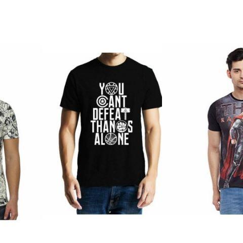 Top 5 Men's t-shirt deals for Marvel fans
