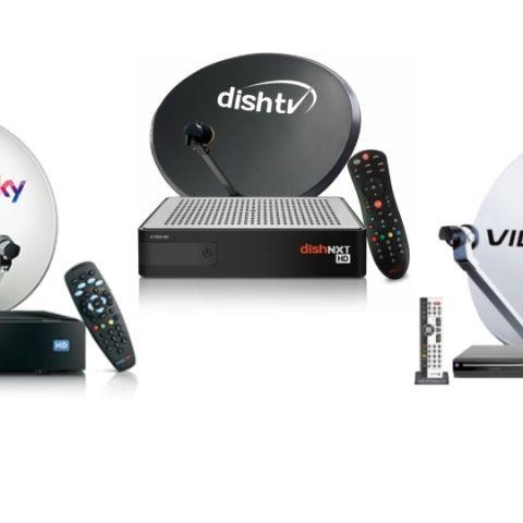 Dish TV, Airtel Digital TV, Hathaway, Siti and Den Networks