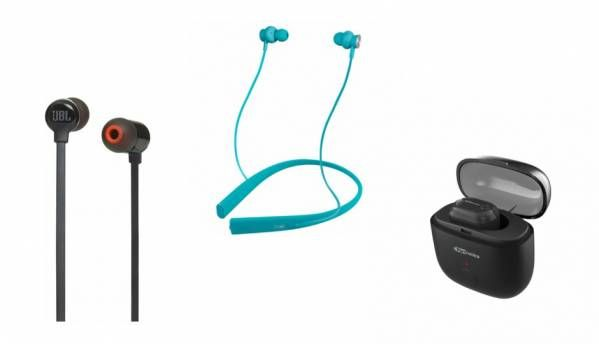 Best wireless In-Ear headphone deals on Amazon