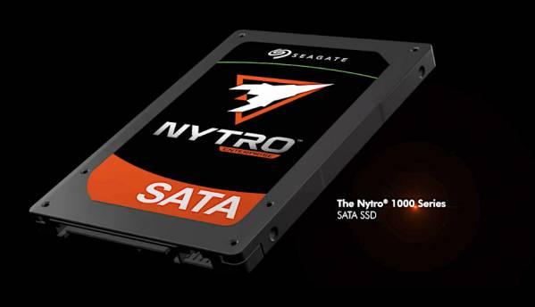 Seagate Launches Nytro 1000 SATA SSD Series with Unique DuraWrite Technology
