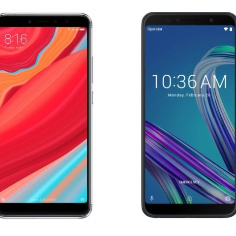Spec comparison: Xiaomi Redmi Y2 vs Asus Zenfone Max Pro M1