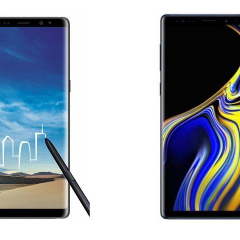 Spec comparison: Galaxy Note 8 vs Galaxy Note 9