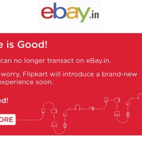 Flipkart pulls the plug on eBay India, working on a new platform for refurbished gadgets