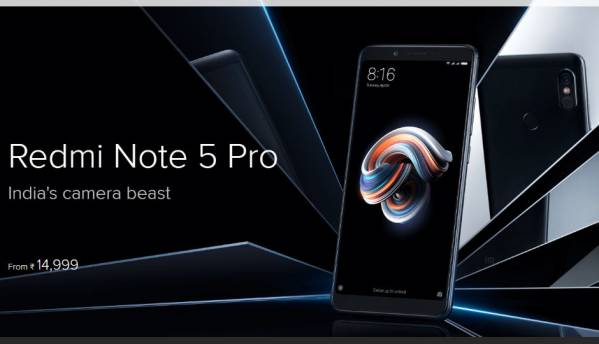 Xiaomi Redmi Note 5 Pro is now available on open sale through Flipkart and Mi.com
