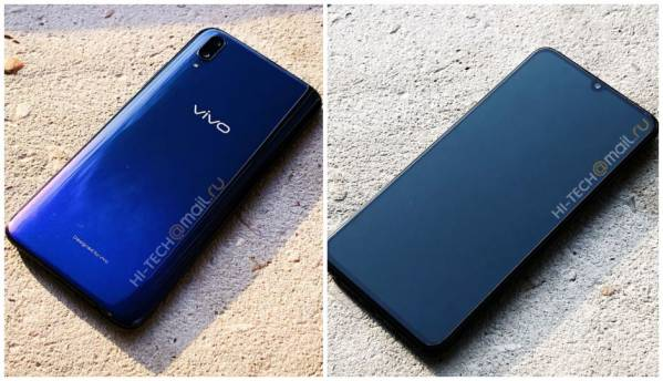 Vivo V11 with in-display fingerprint scanner, 'waterdrop' notch design display leaked in images ahead of September 6 India launch