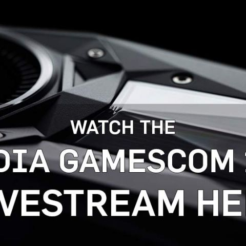 Where to watch the NVIDIA GeForce RTX 2080 Ti / 2080 Gamescom 2018 Livestream