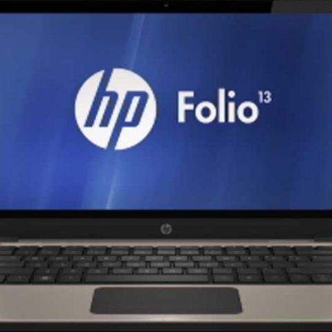 HP launches its first Ultrabook, the HP Folio 13 in India