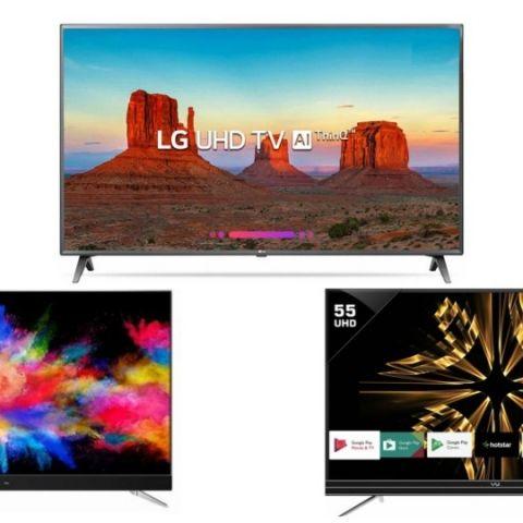 Best 4K TV deals on Flipkart: Discounts on Vu, LG, TCL and more