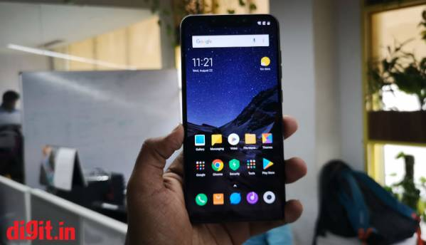 Poco F1 by Xiaomi to get Android 9 Pie update in fourth quarter this year, beta testing programme now open